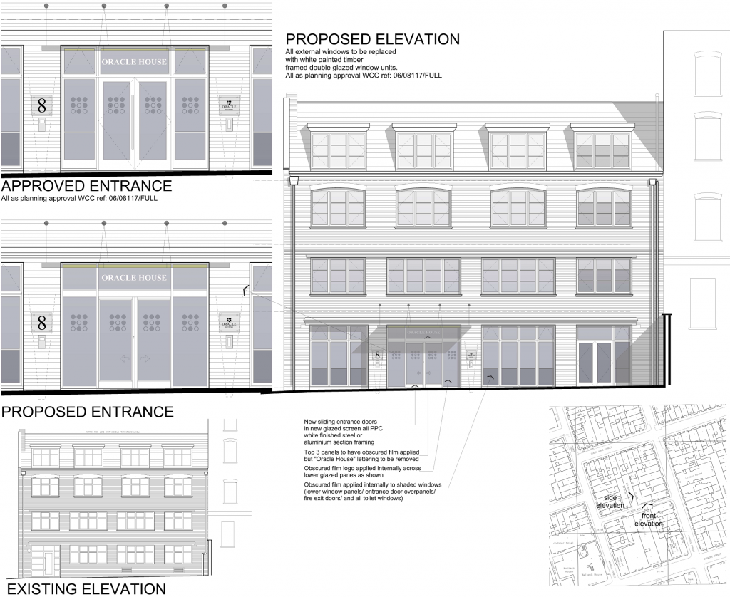Planning Drawing - Elevations