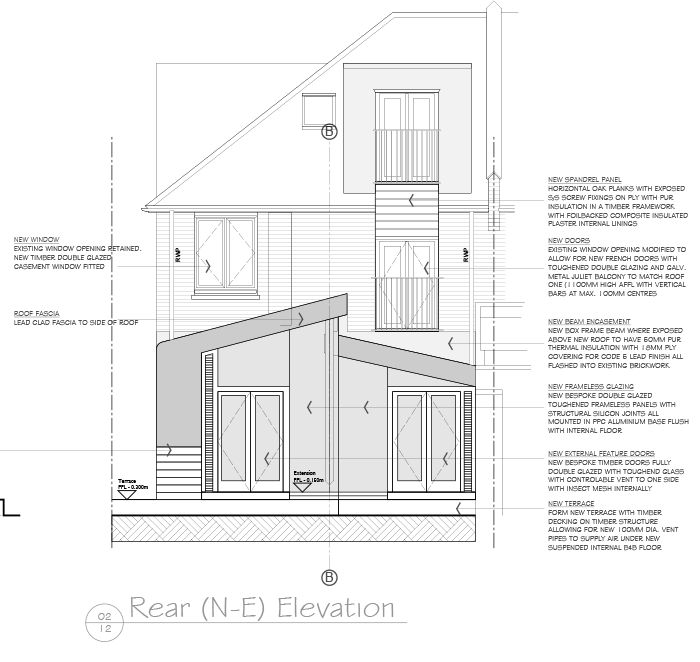 Building Regulations Permission Drawings